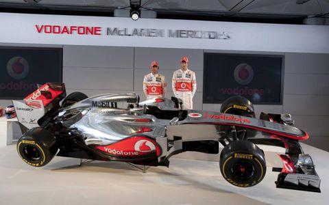 2012 McLaren-Mercedes MP4-27