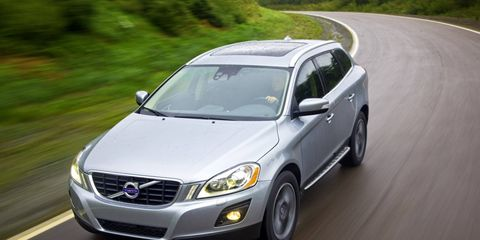 The 2010 Volvo XC60 is on the IIHS list of safe teen cars.