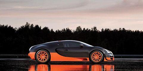 2011 Bugatti Veyron 16.4 Super Sport