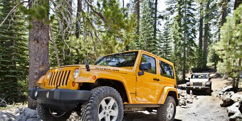 The 2018 Jeep Wrangler Rubicon comes from a long line of Rubicons, dating back to the TJ.