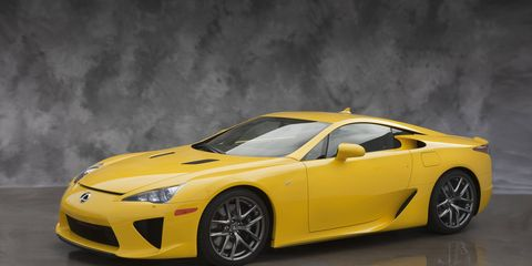 The tachometer on the Lexus LFA was made digital because a traditional tach couldn't keep up with how quickly it revved.
