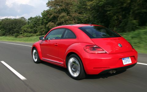 Though the 2015 Volkswagen Beetle 1.8T is no GSR, it is still a great little Beetle.