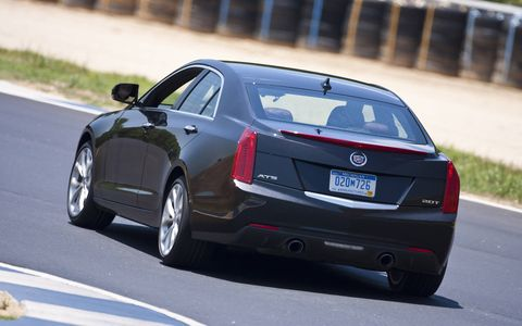 The 2014 Cadillac ATS 2.0T receives an EPA-estimated 28 mpg combined fuel economy.