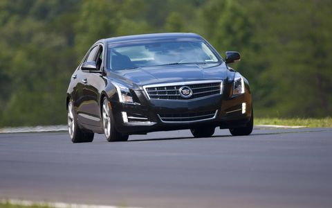 The 2014 Cadillac ATS 2.0T Premium Collection starts at a base price of $46,020 with our tester topping off at $48,055.