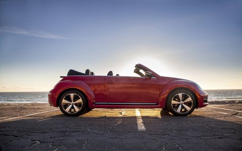 The 2014 Volkswagen Beetle Convertible TDI comes in at a base price of $29,715.