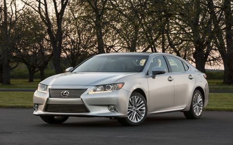 The 2015 Lexus ES 350 delivers a luxury-style experience.