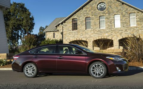 The Avalon Hybrid has a 2.5-liter I4 with permanent magnet AC synchronous motor.