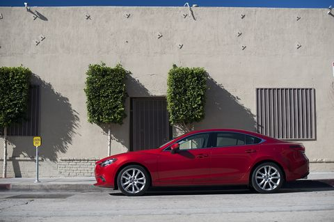 The 2015 Mazda 6 i Touring comes in at a base price of $23,845 with our tester topping off at $24,840.