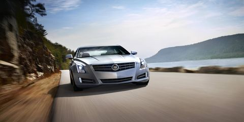 Our ATS came equipped with 3.6-liter V6 making 321 hp and 275 lb-ft of torque.