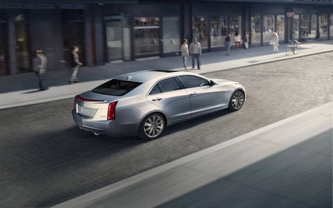 Magnetic ride control comes standard on the ATS Premium Collection.