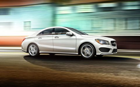 The CLA250 comes with a powerful turbocharged engine generating 208 hp and 258 lb-ft of torque.