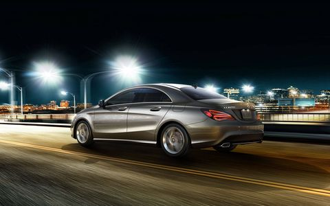 The Mercedes-Benz CLA250 is also available with a new generation of the 4MATIC all-wheel drive system .