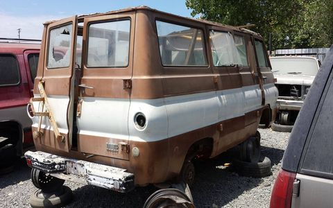 Not much body rust, but thoroughly used up.