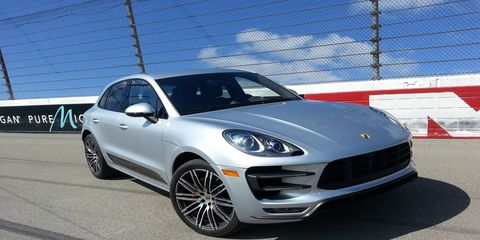 Driving the 2015 Porsche Macan Turbo is a lot of fun.