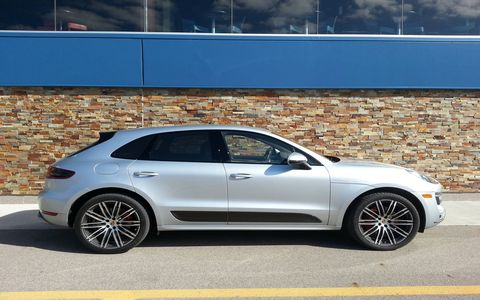 Dynamically, the 2015 Porsche Macan Turbo is a step ahead of the Audi Q5.