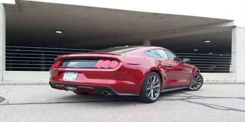 The 2015 Ford Mustang GT Premium Coupe has a shocking level of refinement.