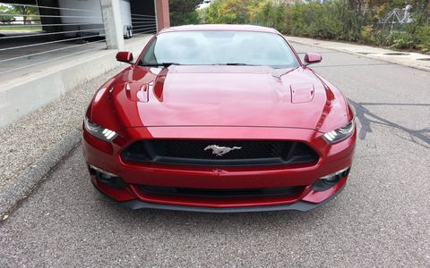 The 2015 Ford Mustang GT Premium Coupe has to be the most comfortable Mustang to date.
