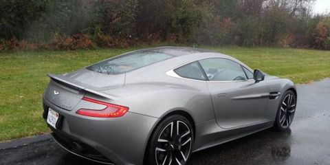 The 2015 Aston Martin Vanquish was among our reviews the week of Dec. 7, 2014.