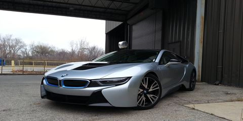 The 2014 BMW i8 is BMW's take on the hypercar of the future.