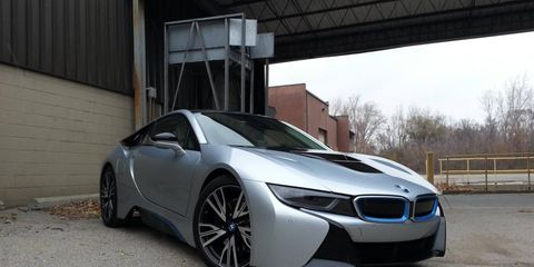 The 2014 BMW i8 inspired a spirited back-and-forth between editors who had mixed feelings about the hybrid supercar.