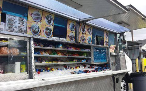 Nothing on the menu is more than 10 bucks at this San Jose junkyard taco truck.
