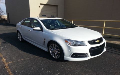 The 2015 Chevrolet SS is superb with the manual gearbox added to the options checklist.