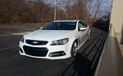 It's difficult to find any complaints with the 2015 Chevrolet SS.
