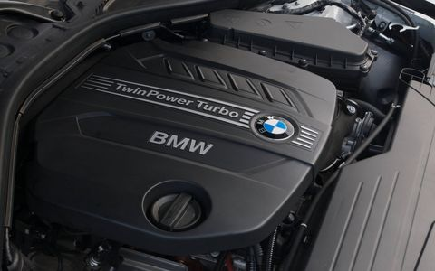 The 328d Sedan will feature BMW's 2.0-liter TwinPower diesel 4-cylinder engine. (The 2014 model is shown because it is visually identical to the 2015 model.)