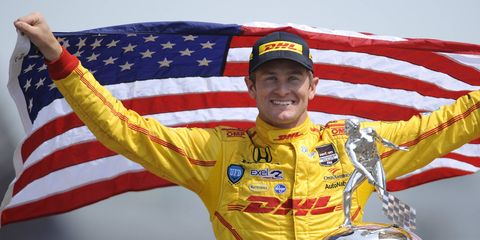 Ryan Hunter-Reay won the Indy 500 in 2014, ending the longest streak of non-American winners in the history of the race.