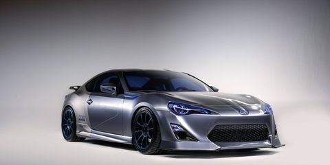 The Mine's FR-S Concept for SEMA features a supercharger, which Scion has no plans to offer.