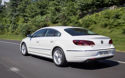 The 2015 Volkswagen CC 2.0T Sport comes in at a base price of $33,550.
