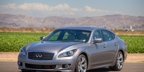 Our editors were torn about the Q70's body work, some thought it was handsome, others thought it was bulbous.