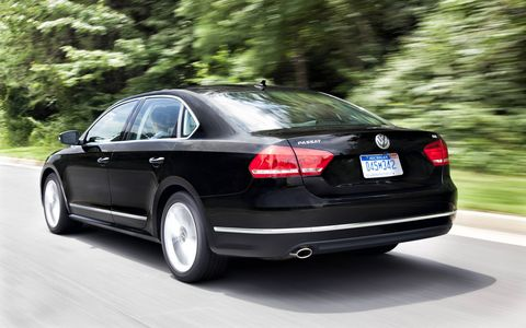 The 2015 Volkswagen Passat 1.8T SEL Premium would make a really good family car.