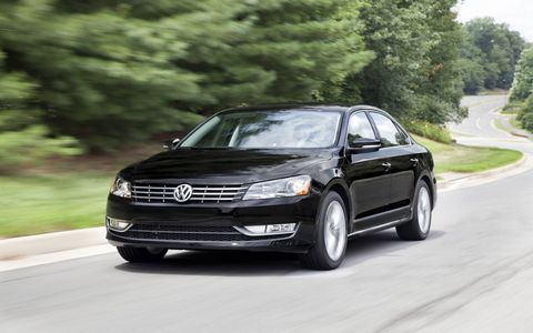 The 2015 Volkswagen Passat 1.8T SEL Premium comes in at a base price of $32,295.