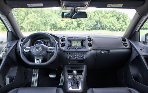 You could also argue that the 2.0-liter turbocharged diesel makes even more sense in a utility vehicle like the Tiguan.