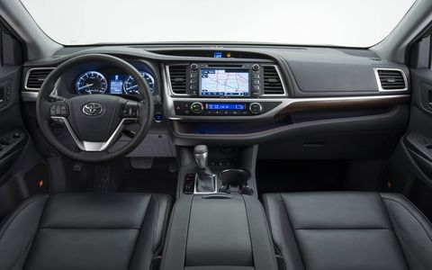 The 2015 Toyota Highlander impressed with three rows, a comfortable ride and decent pickup off the line.