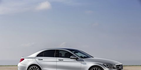 The 2015 Mercedes-Benz C-class will hit U.S. dealerships in September.