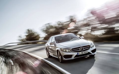 The C-class will arrive in two trims; C300 and C400, both with all wheel drive.