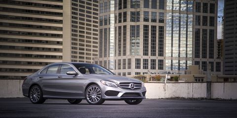 Pricing for the 2015 C-Class starts at $41,325 for the C300 4Matic.