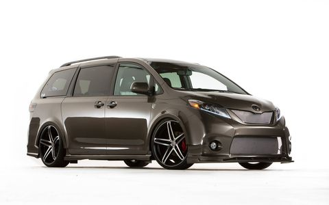 Toyota says it could build this Sienna, shaking the minivan world to its core.