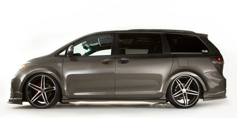 Who says your life is over just because you drive a minivan? Not Toyota!