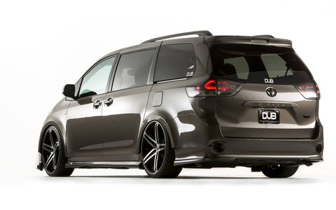 TRD could make the body kit for this DUB edition Sienna.