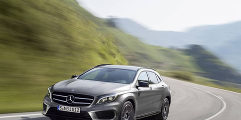 The 2015 Mercedes-Benz GLA250 goes on sale in September.