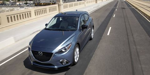 With the 2.5-liter under the hood, the 2015 Mazda 3 s Grand Touring 5-Door is no slouch.