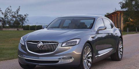The Buick Avenir concept won Autoweek's Best Concept of the Detroit auto show.