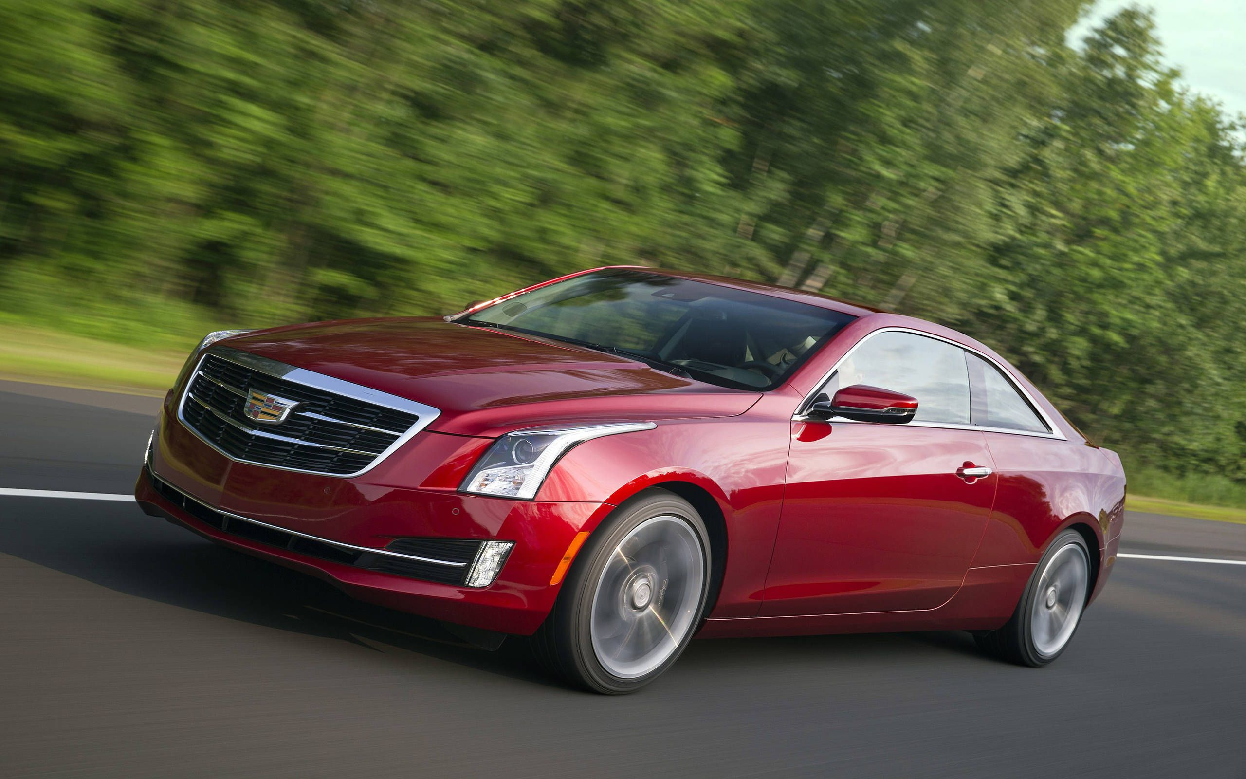 2016 Cadillac Ats Coupe Review Notes Best Looking Luxury Coupe