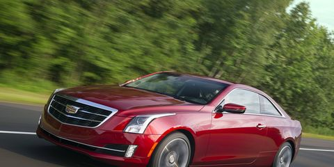 The 2015 Cadillac ATS 2.0T Performance Coupe comes in at a base price of $48,925 with our tester topping off at $51,800.