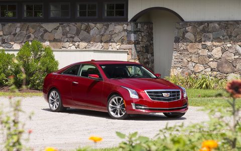 The 2015 Cadillac ATS 3.6L Performance Coupe drives just as good as its sedan counterpart.