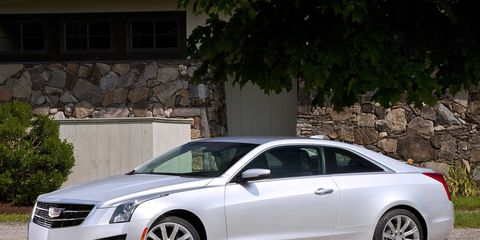 The 2015 Cadillac ATS coupe is available with two engines and two transmission choices.