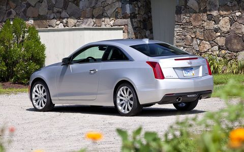 The ATS sedan-based coupe has been thoroughly reworked inside and out.